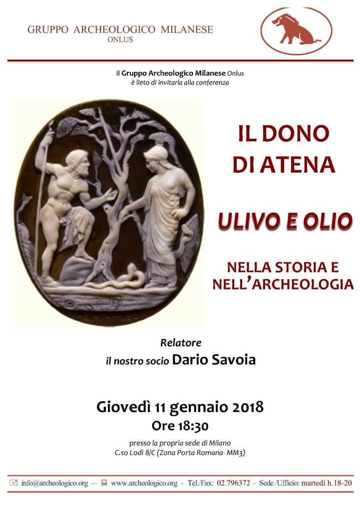 Conf 2018 01 11h18.30_I doni di Atena_Savoia D