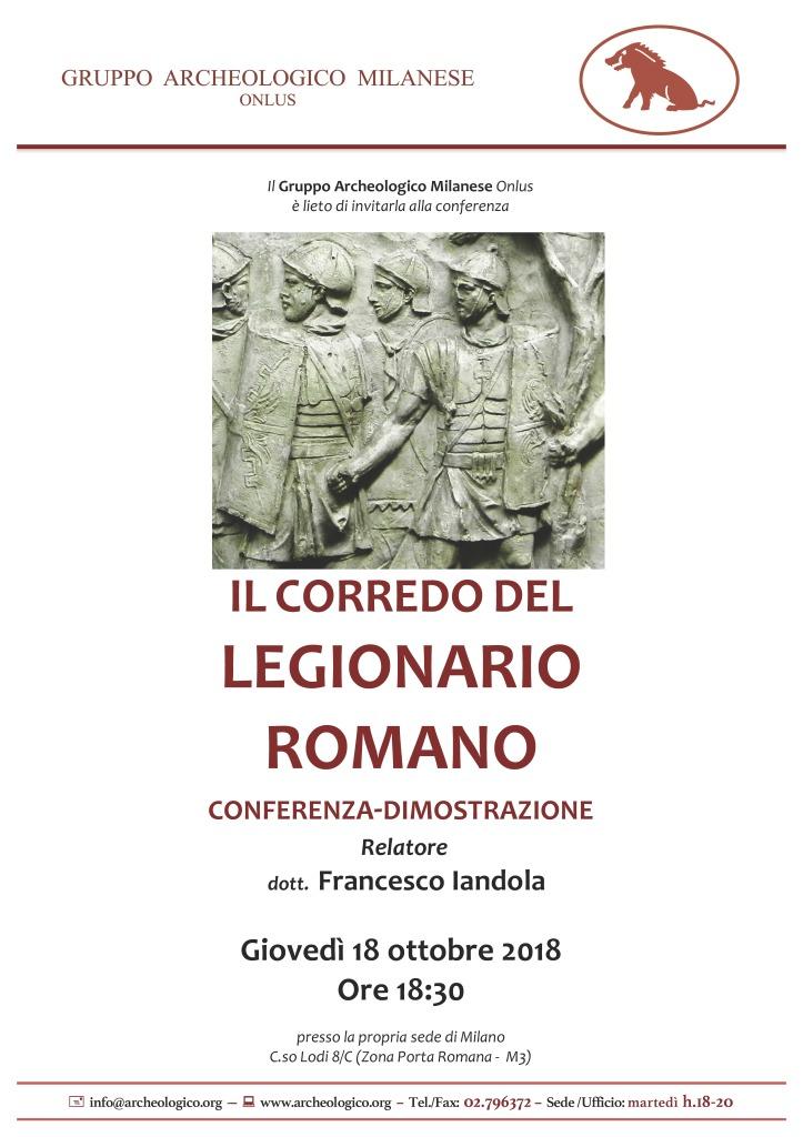 Conf 2018 10 18_h18.30 Corredo legionario romano_Iandola F