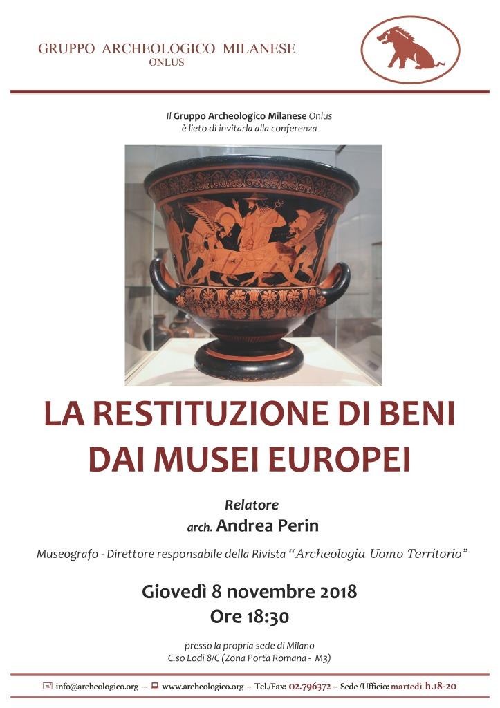 Conf 2018 11 08_h18.30 Restituz beni da musei europei_Perin R (1)